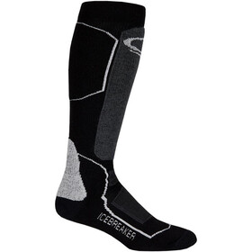 Icebreaker Ski+ Medium OTC Socks Men black/oil/silver